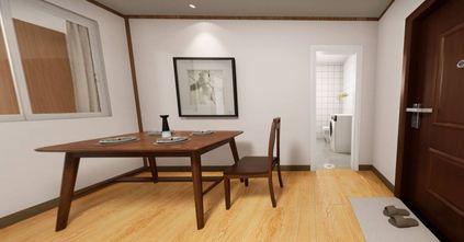 70平米日式风格餐厅图片