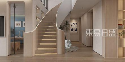20万以上140平米复式现代简约风格楼梯间图片