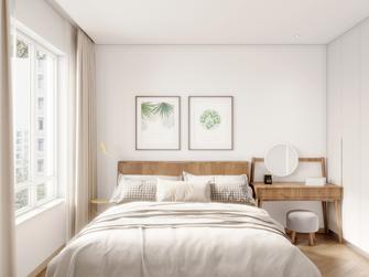 80平米欧式风格卧室设计图