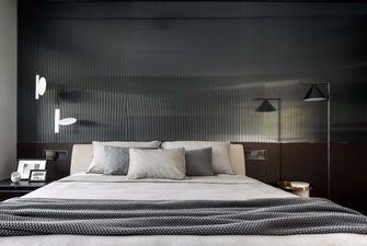 富裕型140平米三室两厅工业风风格卧室欣赏图