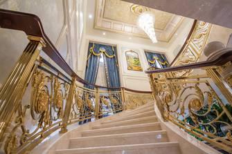 140平米别墅法式风格走廊图片