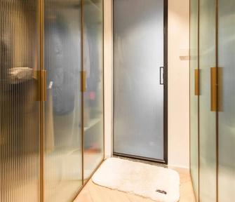 20万以上140平米四室两厅北欧风格衣帽间图