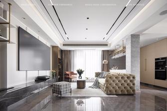豪华型120平米四室四厅美式风格客厅图