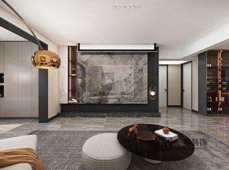 80平米混搭风格客厅效果图