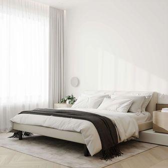 130平米三室一厅混搭风格卧室装修效果图