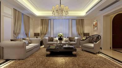 10-15万140平米别墅英伦风格客厅图片
