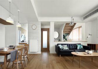 富裕型60平米复式北欧风格客厅装修案例