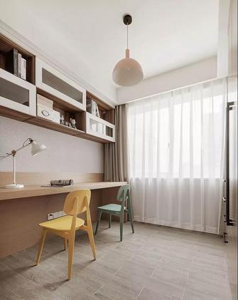 经济型110平米三室两厅北欧风格书房装修案例