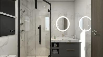 经济型90平米欧式风格卫生间设计图