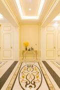 20万以上140平米四室两厅欧式风格走廊图