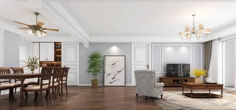 10-15万110平米三美式风格客厅装修效果图