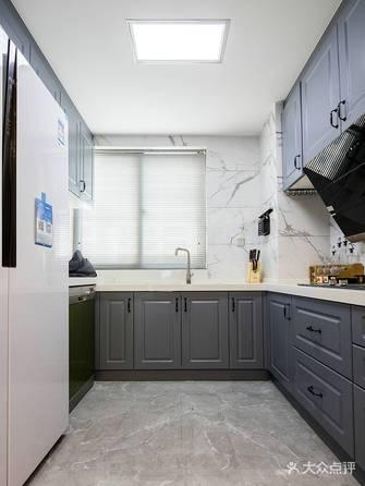 130平米三北欧风格厨房装修案例