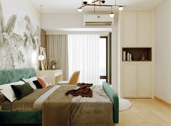 5-10万70平米三室一厅北欧风格卧室图片大全