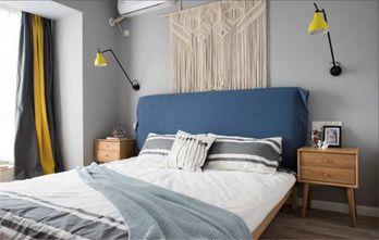 20万以上120平米四室两厅北欧风格卧室设计图