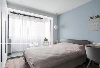 富裕型50平米公寓北欧风格卧室图片大全