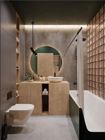 经济型30平米小户型现代简约风格卫生间装修案例