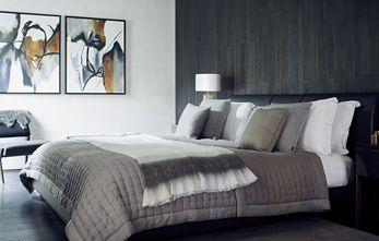 10-15万60平米复式英伦风格卧室设计图