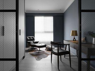 130平米三室两厅工业风风格书房图片