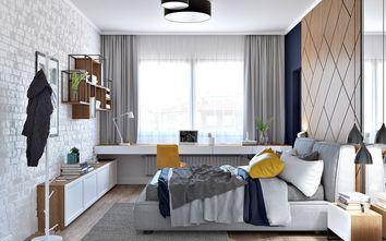 富裕型120平米三北欧风格卧室图