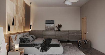 经济型50平米一居室现代简约风格卧室图片