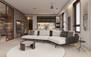 20万以上110平米四室两厅现代简约风格客厅装修图片大全