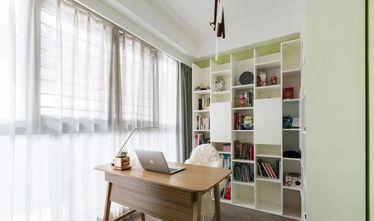 经济型80平米三现代简约风格书房图