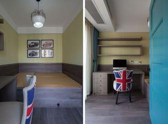 豪华型130平米三室两厅混搭风格书房图