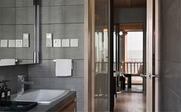 10-15万140平米三室两厅中式风格卫生间装修案例