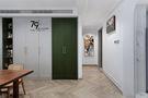 140平米三室两厅混搭风格走廊图片
