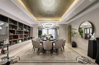 豪华型140平米四室一厅轻奢风格餐厅装修案例