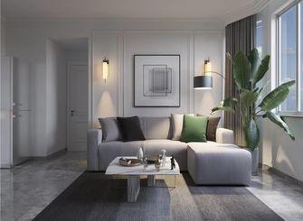 120平米三室一厅美式风格客厅图片大全