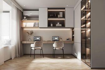 豪华型130平米三室两厅轻奢风格书房效果图