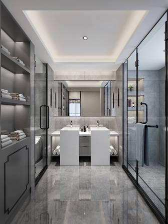 20万以上140平米复式中式风格卫生间装修案例