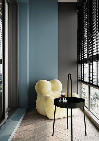20万以上80平米三室一厅现代简约风格阳台图片大全