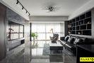 富裕型130平米三室两厅现代简约风格客厅装修图片大全