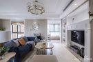 140平米三室两厅美式风格客厅设计图