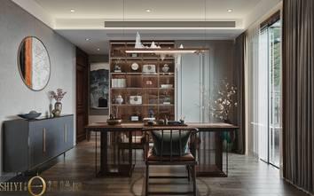 豪华型140平米别墅轻奢风格书房装修案例