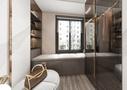 富裕型140平米四室两厅现代简约风格衣帽间装修图片大全