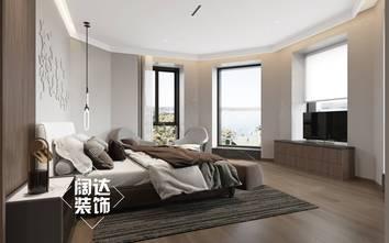 豪华型140平米复式现代简约风格卧室装修效果图