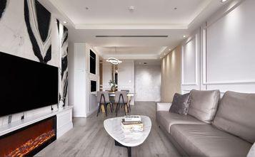 豪华型120平米三室两厅新古典风格客厅装修案例