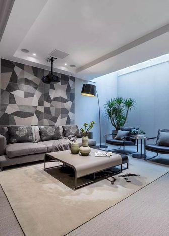 140平米四室两厅现代简约风格影音室装修图片大全