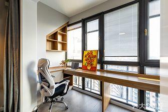 富裕型110平米三室一厅现代简约风格阳台装修案例