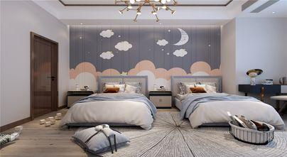 豪华型120平米四室一厅北欧风格卧室图片