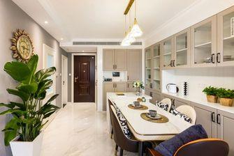 经济型80平米一室一厅美式风格餐厅装修图片大全