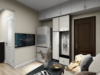 5-10万50平米美式风格客厅图片