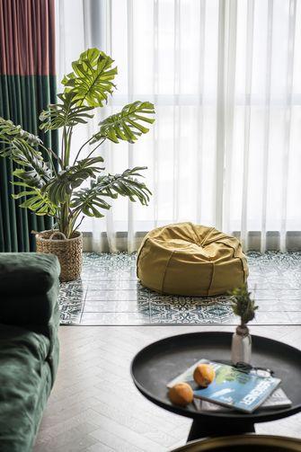 富裕型90平米三室两厅混搭风格阳台装修图片大全