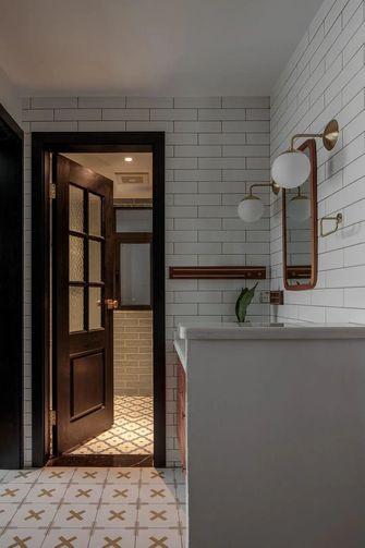 经济型100平米三室一厅混搭风格卫生间设计图