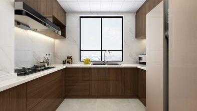 富裕型120平米三室两厅新古典风格厨房装修图片大全