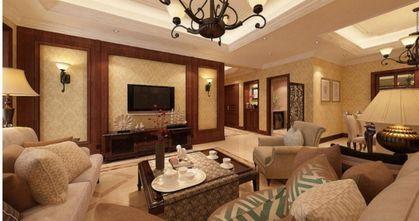 110平米三中式风格卧室欣赏图