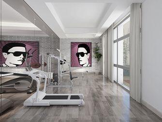 20万以上140平米别墅现代简约风格健身房装修图片大全